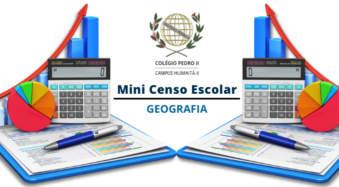 Cartela Mini Censo Escolar Geografia